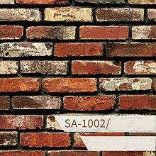 ZCHENG Selbstklebende Block 3d Stein Aufkleber