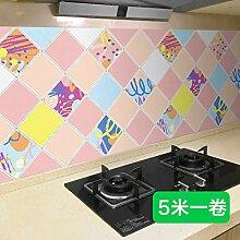 ZCHENG Selbstklebende küchenölbeständige