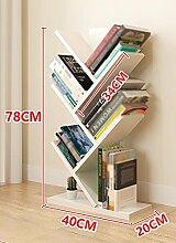 ZCJB Bücherregal-Baum-kleines Bücherregal 78cm
