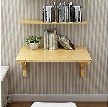 ZCJB Massivholz Wand Tisch Klapptisch Esstisch
