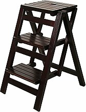 ZCJB Treppenhocker Folding Step Hocker 3 Tier