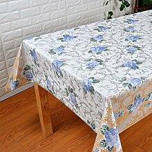 ZCXCC PVC-Tischdecke Moderne Einfachheit