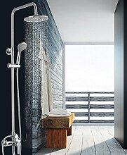 ZCYJL Waschtischmischer Dusche Messing Körper