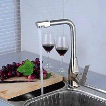 ZCYJL Waschtischmischer Küchenarmatur aus