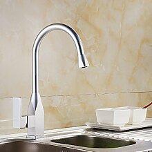 ZCYJL Waschtischmischer Raum Aluminium Wasserhahn