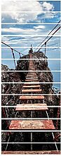 ZDDBD Treppe Aufkleber 3D Abziehbilder Für