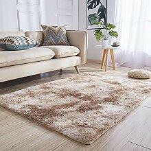 ZDStore Farbverlauf Teppich Schlafzimmer