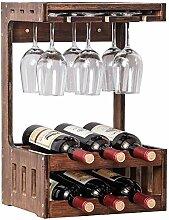 zdw Weinkabinett-Weinregal Wein an der Wand,