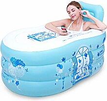 ZDYG Aufblasbare faltende badewanne für badewanne