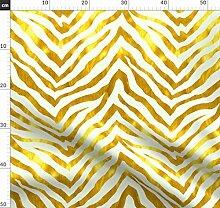 Zebra, Gold, Groß, Metallic, Tapete, Vorhang,