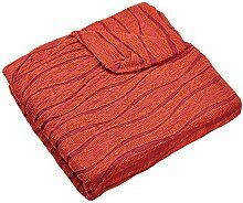Zebra Textil Husse Relax-Sessel, Orange, 1 Sitzer