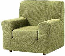 Zebra Textil Vega Elastische Sofa-Husse, Grün, 1