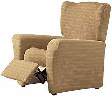 Zebra Textil Vega Husse Relax-Sessel, Beige, 1