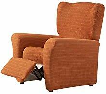 Zebra Textil Vega Husse Relax-Sessel, Orange, 1