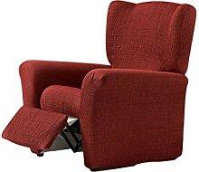 Zebra Textil Vega Husse Relax-Sessel, Rot, 1 sitzer