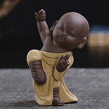ZEETOON Buddha-Figur für Wohnung, Tee Haustier