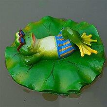 Zehui Garten Outdoor Rasen Pool Floating Frosch