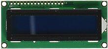 Zeichen 1602 LCD-Display-Modul mit HD44780-Controller mit blauer Hintergrundbeleuchtung