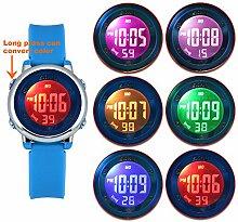 Zeiger Kinder Uhren Sport Uhr für Mädchen und
