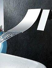 Zeitgen?ssisch - Wasserfall - Messing (Chrom)