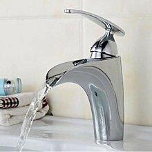 Zeitgenössische Waschbecken Einhebel Wasserhahn