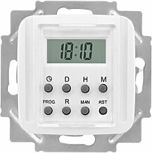 Zeitschaltuhr, LCD, reinweiß, KLEIN-SI