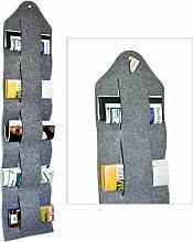 Zeitschriftenbutler - Zeitschriftenhalter aus Filz