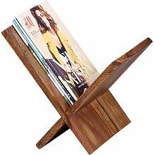 Zeitschriftenständer aus Sheesham Massivholz online kaufen