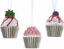 zeitzone Christbaumschmuck Cupcake Törtchen 3