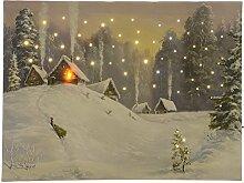 zeitzone LED Bild Weihnachten Mit Beleuchtung