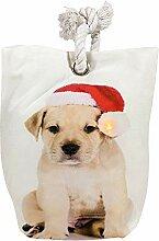 zeitzone LED Türstopper Weihnachten Hund mit