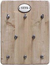 zeitzone Schlüsselbrett Keys 8 Haken