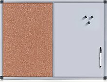 Zeller 11163 Pin-/Memoboard-Kombi mit Alurahmen