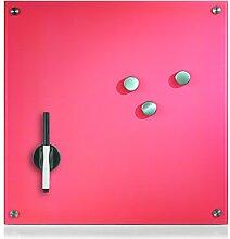 Zeller 11645 Memoboard, Glas, pink