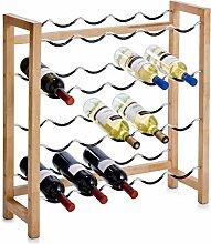 Zeller 13137 Weinregal für 20 Flaschen,