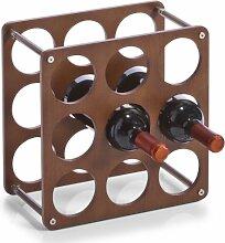 Zeller 13167 Weinregal für 9 Flaschen 0.7 Liter