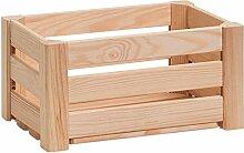 Zeller 13360 Leisten Aufbewahrungskiste, Holz,