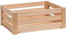 Zeller 13361 Leisten Aufbewahrungskiste, Holz,