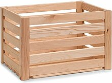Zeller 13362 Leisten Aufbewahrungskiste, Holz,