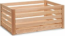 Zeller 13363 Leisten Aufbewahrungskiste, Holz,
