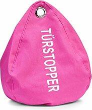 Zeller 13825 Türstopper, PVC 1.4 kg, rosa, Pink, 18 x 13 x 20 cm