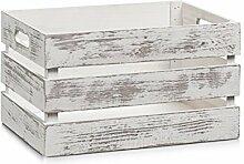 Zeller 15131 Aufbewahrungs-Kiste, Holz, vintage