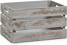 Zeller 15137 Aufbewahrungs-Kiste, Holz, vintage
