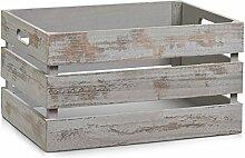 Zeller 15138 Aufbewahrungs-Kiste, Holz, vintage