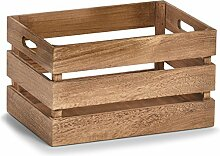 Zeller 15166 Aufbewahrungs-Kiste Vintage, Holz