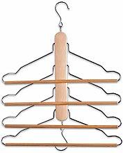 Zeller 17122 Mehrfach-Kleiderbügel 40 x 41 cm,