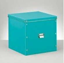 Zeller 17608 Aufbewahrungsbox, Kunststoff, türkis