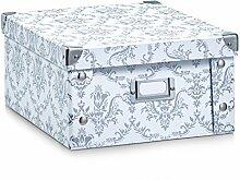 Zeller 17972 Aufbewahrungsbox Vintage, Pappe,