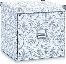 Zeller 17974 Aufbewahrungsbox Vintage, Pappe,