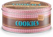 Zeller 19145 Vorratsdose Cookies, rund, Metall,